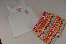 Gymboree Aloha Sunshine Girls Size 5T Daddy Shirt Top Size 5 Floral Shorts NWT
