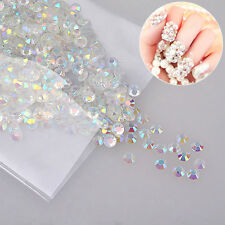 1000pcs/pack Nail Art Decoration Crystal Resin Rhinestone Manicures Accessories
