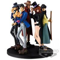 Diorama Set 5 Figura Statue Lupin Creator Banpresto Jigen Goemon Fujiko
