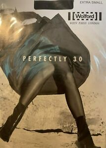 Wolford Perfect 30 Tights Color: Anthracite Size: Extra Small 18179 - 15