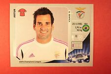 PANINI CHAMPIONS LEAGUE 2012/13 N. 463 ARTUR BENFICA BLACK BACK MINT!