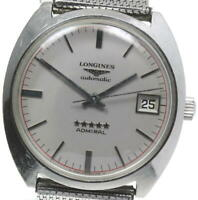 LONGINES Admiral 5 Star Silver Dial Automatic Men's Watch_593261