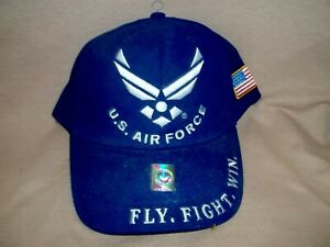 Air Force Veteran, 100% Cotton, Embroidered Ball Cap