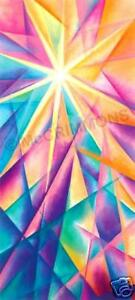 """A Light for my Path fabric banner 52 x 24"""""""
