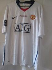 Manchester United CL Final Rome 2009 Away Football Shirt Size XXL /34110