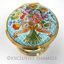 Halcyon Days Enamels Mother's Day 2002 New In Box Enamel Box