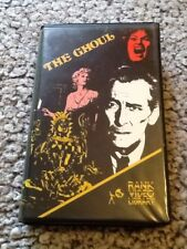 The Ghoul - Rank Tyburn  Pre Cert  Superb Condition  VHS