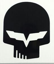 """ONE C6 JAKE Corvette Decals 20""""w x 22""""H 3D Carbon Fiber Vinyl"""