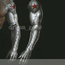 Two Size Captain America Winter Soldier Bucky Arm Armour Muscle Cosplay Props
