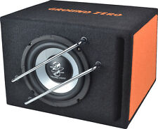 Ground Zero Subwoofer in cassa reflex GZIB 165BR box sub auto dimensioni ridotte