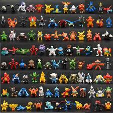 144 Pcs Pokemon Monsters Mini Figures Collection Play Set 2-3cm Pocket Pikachu