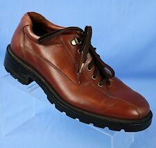 Cole Haan Brown Leather Bike Toe Oxfords 266719 Mens 9 M