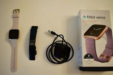 Fitbit Versa Special Edition Fitness Tracker Smartwatch- Excellent Condition!