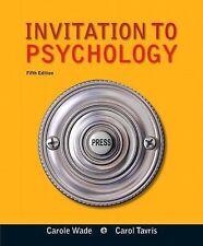 Invitation to Psychology (5th Edition)