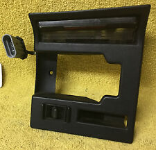 94-96 C4 Corvette Right Door Handle Lock Bezel Trim with light & lock switch!
