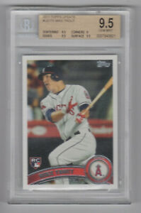 2011 Topps Update MIKE TROUT Rookie Card #US175 RC Graded BGS 9.5 ANGELS! Huge!