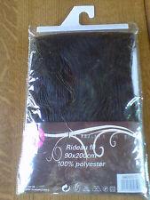 rideau noir, fils , 90 x 200 cm