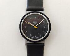 VTG 80s 90s BRAUN Quartz Wrist Watch 4789 AW 10 D. Lubs Germany Bauhaus 20 Rams