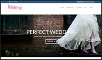 WEDDING DAY Website Earn £199.00 A SALE|FREE Domain|FREE Hosting|FREE Traffic