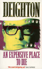 An Expensive Place to Die by Len Deighton, Good Used Book (Paperback) FREE & FAS