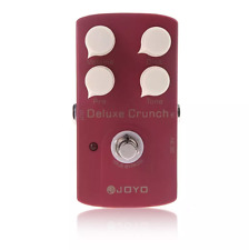 JOYO JF-39 Deluxe Crunch Electric Guitar Effect Distortion Pedal True Bypass