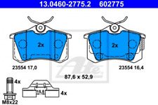 13.0460-2728.2 Bremsbelagsatz Bremsklotz Bremsklötze Bremse Bremsen ATE