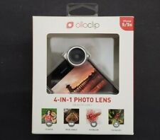 New Olloclip 4 in 1 Photo Lens for Apple iPhone 5/5s Wide Angle Fish Eye 15x 10x