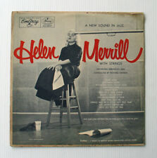 1955 HELEN MERRILL with STRINGS EmArcy Records LP MG36057 Female Vocal JAZZ