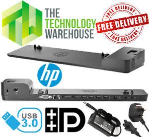 HP 2013 UltraSlim Docking Station - D9Y32AA - USB 3.0 - Including Power Supply