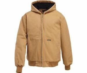 Wolverine Men's Houston Cotton Duck Hooded Jacket