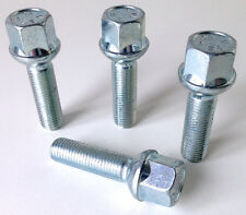 4 x wheel bolts lugs nuts. M12 x 1.5 Radius Seat 40mm Thread Length