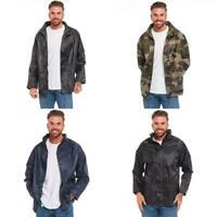Arctic Storm 100% Waterproof Rain Jacket | Hooded Raincoat with Taped Seams