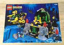 LEGO® Bauanleitung Aquanauts - 6199 Unterwasser Station ungelocht / instructions