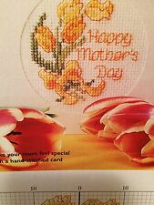 Mothers Day Card Cross Stitch Chart
