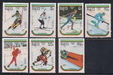 Cambodia  1989  Sc # 946-52  Olympic   MNH   (1185)