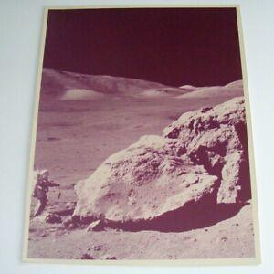 Apollo 11 Mission Kodak Photograph Earth Rise Astronauts July 20 1969 11 x 14
