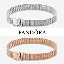 Sterling Silver Pandora reflective mesh bracelet XMAS GIFT