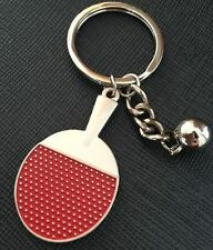 FD4802 Classic 3D Sports Table Tennis Keychain Keyring Key Chain Ring Cute Gift♫