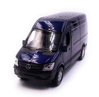 Mercedes Benz Sprinter Panel Van Blue Model Car Scale 1:3 4 (Licensed)