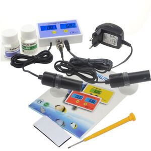 2 in1 Digital Salinity & PH Meter Salinity&PH Monitor for Aquarium Free Shipping