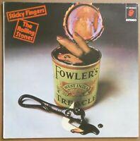 Rolling Stones – Sticky Fingers, Spain Import Bonus Track Let it Rock Vinyl LP