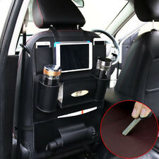 Car Universal Leather Seat Back Bag Organizer Storage Holder Pouch Multi-Pocket