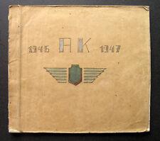 1947 Manuscript on 1930s Lithuanian Lloyd Notebook