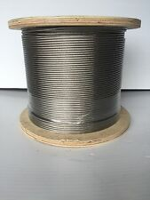 Stainless steel Balustrading wire use with Preswaged wire kits.3.2mm. 50 metres
