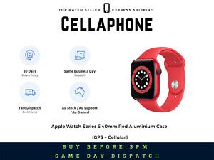 Apple Watch Series 6 40mm Red Aluminium Case (GPS + Cellular) - Au Stock