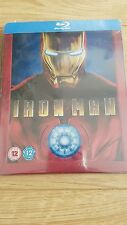 Iron Man Blu Ray Steelbook - Play.Com New Sealed OOP