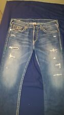 100% Authentic Men true religion jean Ricky super T size 38
