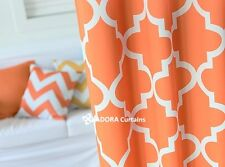 Moroccan CROWN:Nordic Style Blockout Curtain (GINGER ORANGE) 140(W) x 233(L) cm