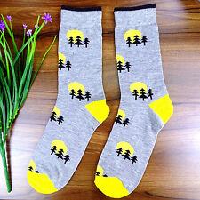 1Pairs Mens Jacquard Lot Classic Cotton Casual Dress Socks 23*22cm DWZ115