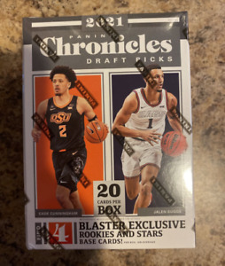 2021 Panini Chronicles NBA Draft Picks Blaster Box New Factory Sealed In Hand